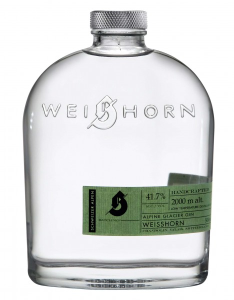 Weisshorn Alpine Glacier Gin Swiss | Intra-wine-and-spirits.de