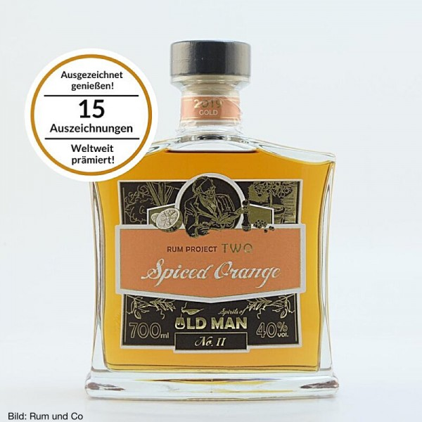 Old Man Rum Project Two Spiced Orange