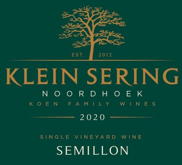 Klein Sering Semillon 2020 Noordhoek Südafrika