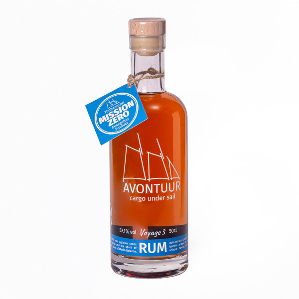 AVONTUUR Karibik Rum 57,1% Caribbean Blue in Fassstärke Voyage 3 | Intra Wine and Spirits