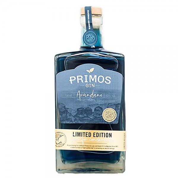 Südafrika PRIMOS Gin Arandano Blueberry | Intra Wine and Spirits