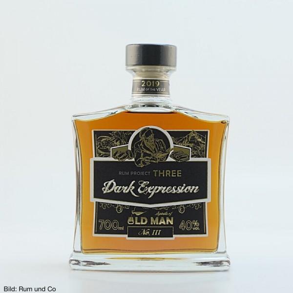 Old Man Rum Project Three Dark Expressions