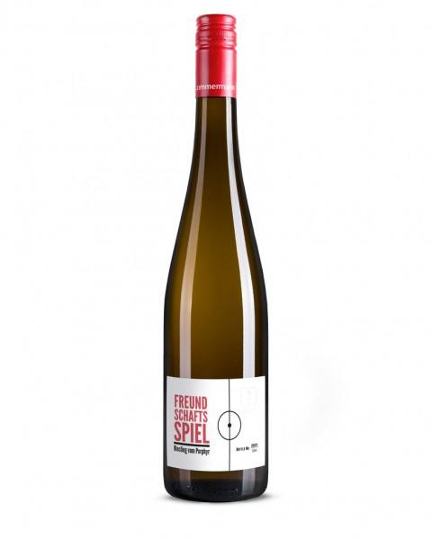 Spätlese Riesling vom Porphyr 2015 - Freundschaftsspiel Zimmermann | Intra Wine and Spirits
