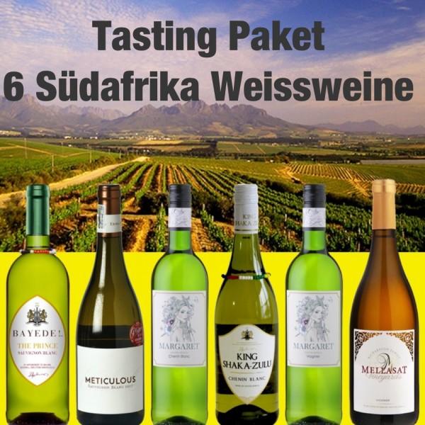 Probierpaket 6 Südafrika Weissweine
