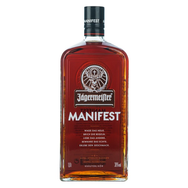 Super Premium Kräuterlikör Jägermeister Manifest | Intra Wine and Spirits