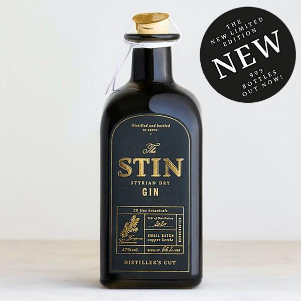 Stin Styrian Gin Distiller's Cut 2020 limited Edition 999 bottles