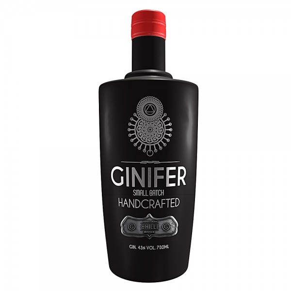 Ginifer Chilli infused Gin from South Africa