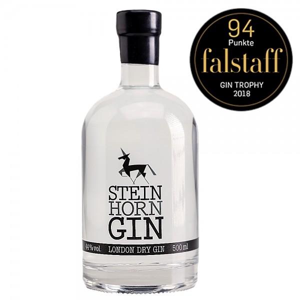 Steinhorn Gin aus Österreich 94 Falstaff Punkte Trophy Sieger 2018