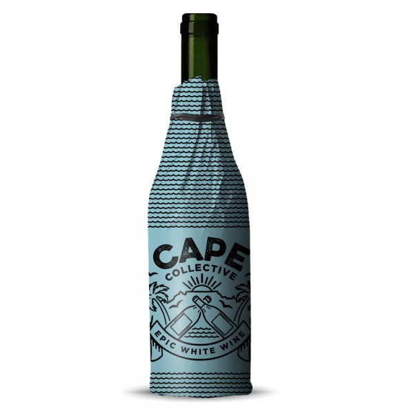 Cape Collective Epic White Chenin Blanc wrapped bottle South Africa