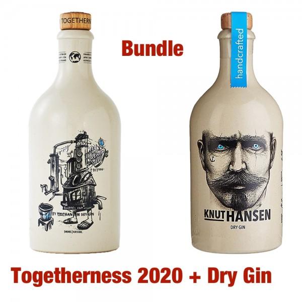 Knut Hansen Bundle Togetherness und Dry Gin zusammen