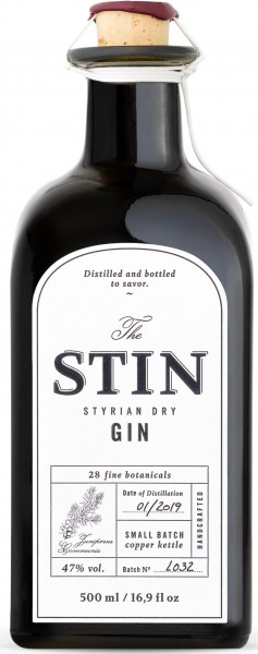 Stin Styrian Gin Classic Proof | Intra-wine-and-spirits.de