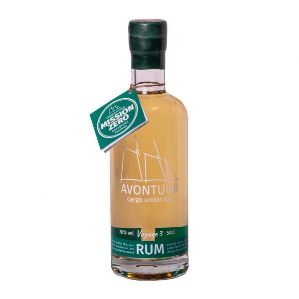 AVONTUUR Karibik Rum 74,7%  Junger Wilder Fassstärke Voyage 3 | Intra Wine and Spirits