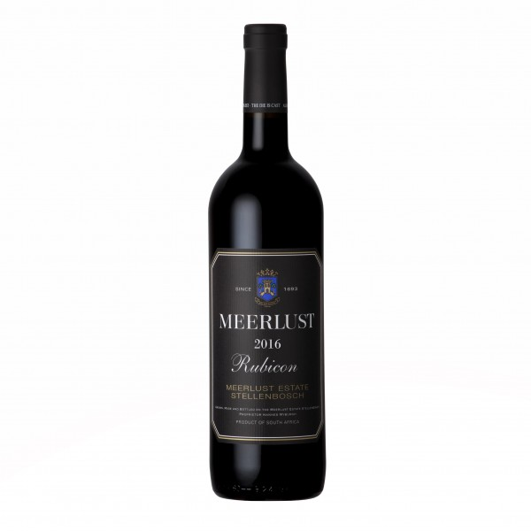 Meerlust Rubicon Red Blend Bordeaux Style 2016 Stellenbosch Südafrika