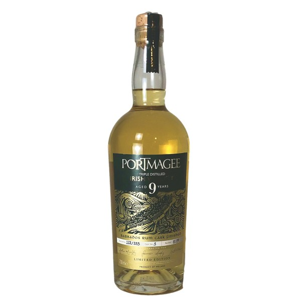 Portmagee Irish Whiskey 9 years old