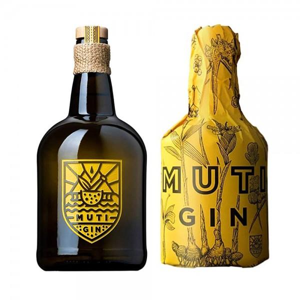 Muti Gin aus Südafrika mit Papier Wrapper