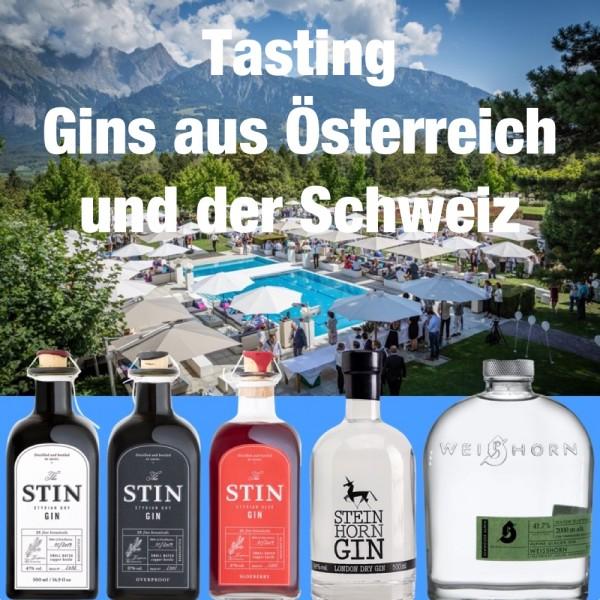 Tasting Paket Österreich und Schweiz 5 Gins