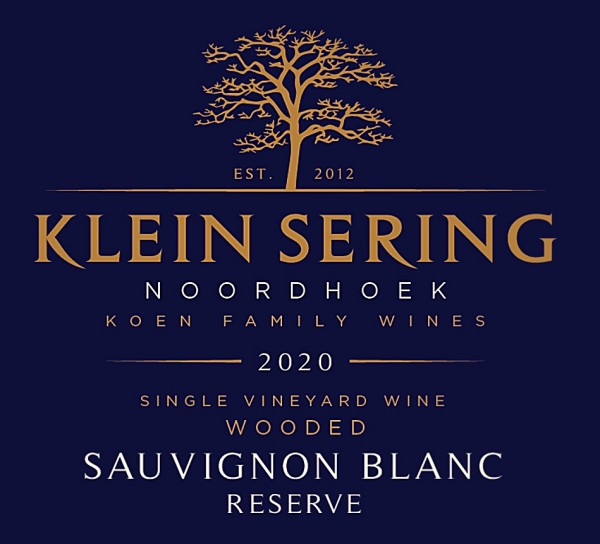 Klein Sering Sauvignon Blanc Reserve 2020 Noordhoek Südafrika