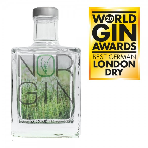 Nor Gin Winner World Gin Awards 2020
