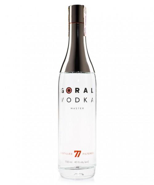 Premium Vodka Goral Master 77 aus der Slowakei   Intra Wine and Spirits