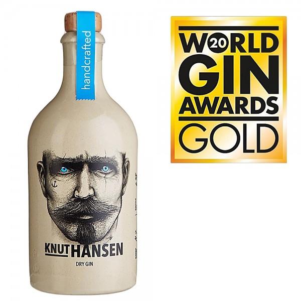 Knut Hansen Dry Gin aus Norddeutschland Gold World Gin Awards 2020