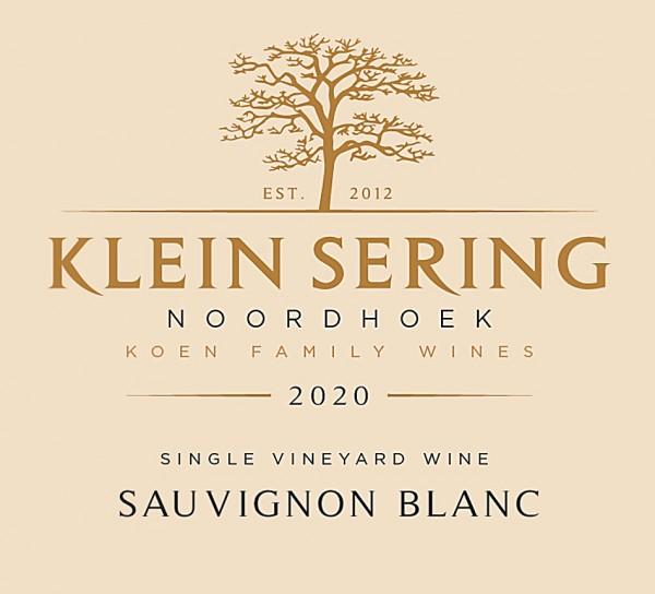 Klein Sering Sauvignon Blanc 2020 Noordhoek Südafrika