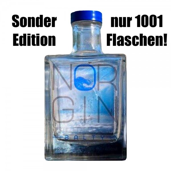NorGin Salty Distilled Dry Gin Sonderedition 2020 nur 1001 Flaschen