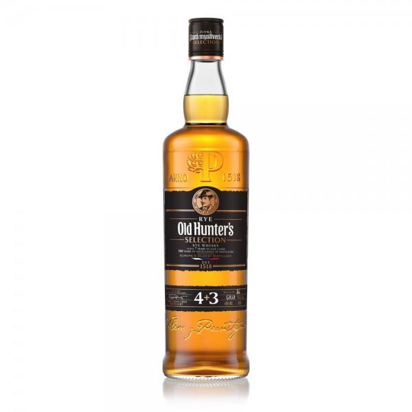 Old Hunter's Reserve 7yo Rye Whiskey - Stara Myslivecka