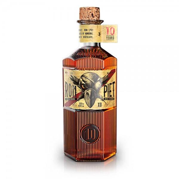 Ron Piet XO Rum 10years old born in Panama raised in Hamburg